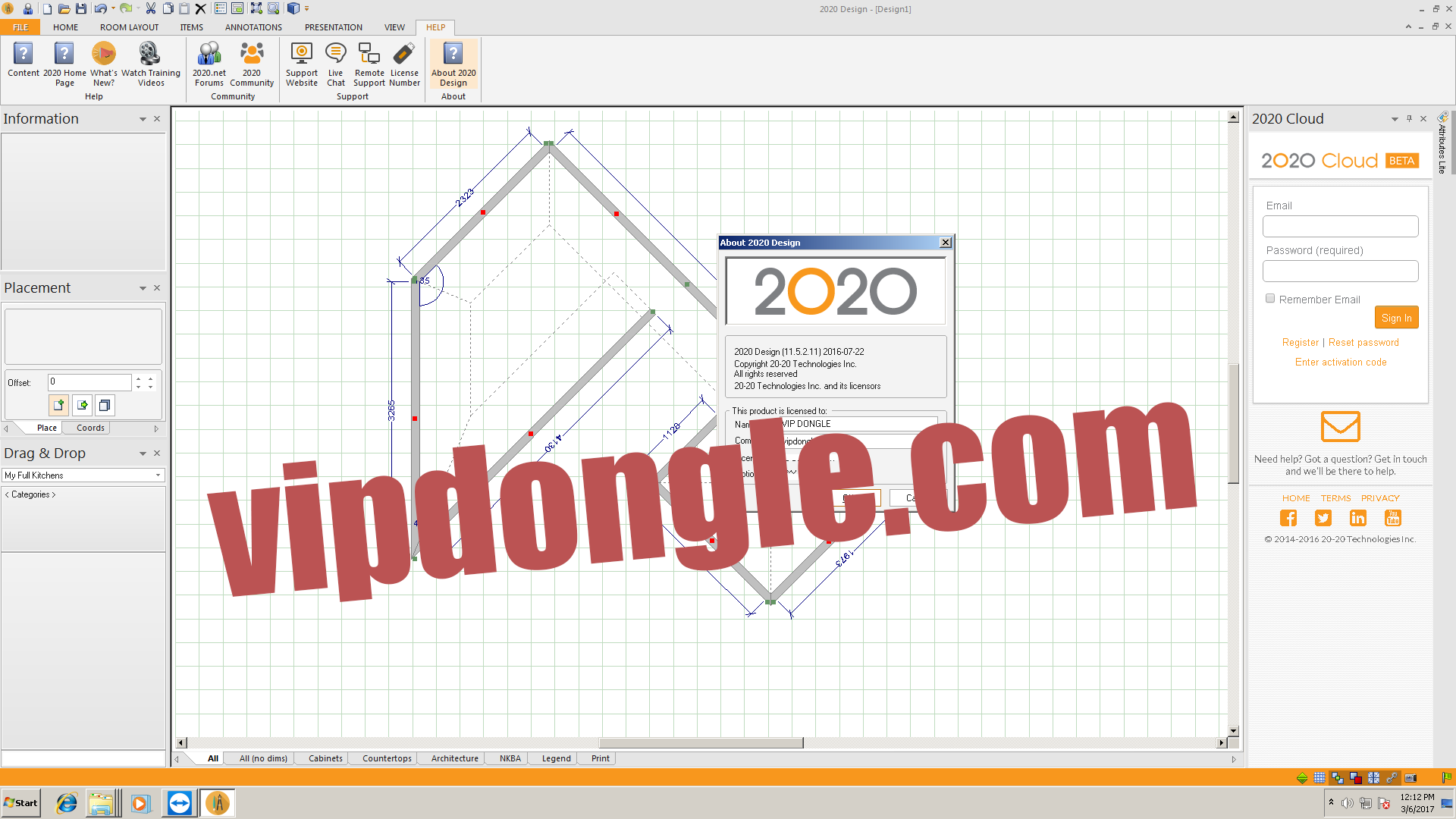 2020 Design V11 Kitchen Design Software Sentinel Superpro Dongle