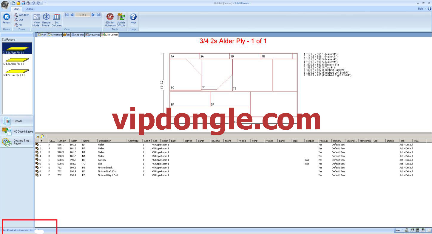 Cabinet Vision V8 Sentinel Dongle Clone   Vip Dongle Team