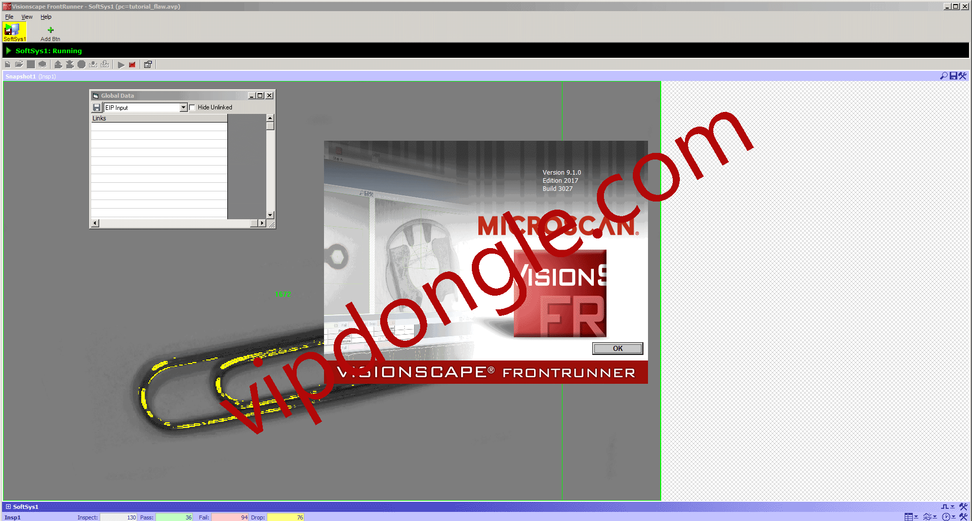 OMRON AutoVISION Machine Vision Software Hasp SRM Dongle